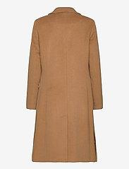 Lauren Ralph Lauren - Wool-Blend Maxi Coat - uldfrakker - new vicuna - 1