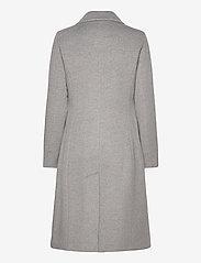 Lauren Ralph Lauren - Wool-Cashmere Coat - uldfrakker - light heather gre - 2