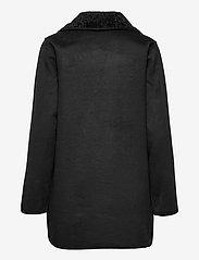 Lauren Ralph Lauren - Reversible Faux-Suede Coat - frakker - black - 2