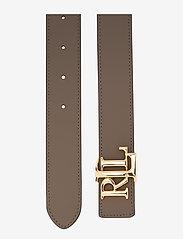Lauren Ralph Lauren - Reversible Leather Belt - belter - deep olive/taupe - 2