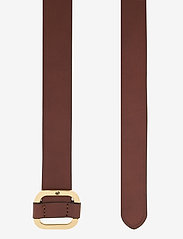Lauren Ralph Lauren - Leather Slide Buckle Belt - belter - cuoio - 1