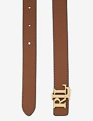 Lauren Ralph Lauren - Reversible Leather Belt - riemen - black/lauren tan - 3