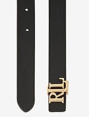 Lauren Ralph Lauren - Reversible Leather Belt - riemen - deep saddle tan/b - 3