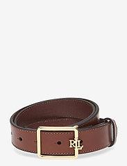 Lauren Ralph Lauren - Logo Leather Belt - belter - cuoio - 0