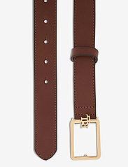 Lauren Ralph Lauren - Logo Leather Belt - belter - cuoio - 1