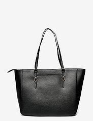 Lauren Ralph Lauren - Saffiano Leather Tote - shoppere - black - 1