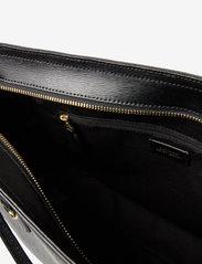 Lauren Ralph Lauren - Saffiano Leather Tote - shoppere - black - 4