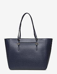 Lauren Ralph Lauren - Saffiano Leather Tote - fashion shoppers - navy - 2