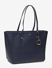 Lauren Ralph Lauren - Saffiano Leather Tote - fashion shoppers - navy - 3