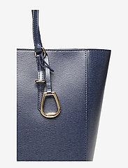 Lauren Ralph Lauren - Saffiano Leather Tote - fashion shoppers - navy - 4