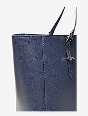 Lauren Ralph Lauren - Saffiano Leather Tote - fashion shoppers - navy - 5