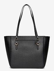 Lauren Ralph Lauren - Saffiano Leather Medium Tote - fashion shoppers - black - 2