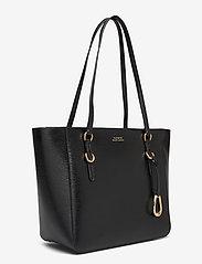 Lauren Ralph Lauren - Saffiano Leather Medium Tote - fashion shoppers - black - 3