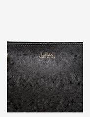 Lauren Ralph Lauren - Saffiano Leather Medium Tote - fashion shoppers - black - 5