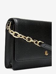 Lauren Ralph Lauren - Leather Medium Crossbody Bag - na ramię - black - 4