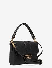 Lauren Ralph Lauren - Leather Spencer Shoulder Bag - skuldertasker - black - 2