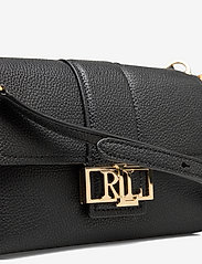 Lauren Ralph Lauren - Leather Spencer Shoulder Bag - skuldertasker - black - 3