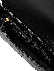 Lauren Ralph Lauren - Leather Spencer Shoulder Bag - skuldertasker - black - 4