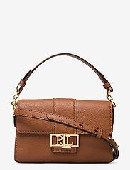 Lauren Ralph Lauren - Leather Spencer Shoulder Bag - skuldertasker - lauren tan - 0