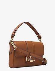 Lauren Ralph Lauren - Leather Spencer Shoulder Bag - skuldertasker - lauren tan - 2