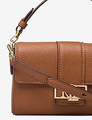 Lauren Ralph Lauren - Leather Spencer Shoulder Bag - skuldertasker - lauren tan - 3