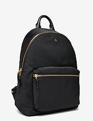 Lauren Ralph Lauren - Nylon Medium Clarkson Backpack - rygsække - black - 2