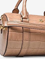 Lauren Ralph Lauren - Leather Small Satchel - top handle tasker - nude - 3