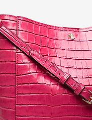 Lauren Ralph Lauren - Medium Adley Shoulder Bag - bucket-tasker - ruby - 3