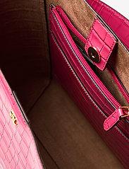 Lauren Ralph Lauren - Medium Adley Shoulder Bag - bucket-tasker - ruby - 4