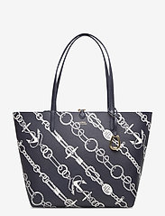 Lauren Ralph Lauren - Faux-Leather Reversible Tote - torby na zakupy - anchored ropes/la - 1