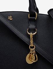 Lauren Ralph Lauren - Saffiano Leather Mini Satchel - top handle - lauren navy - 3