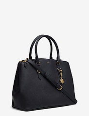 Lauren Ralph Lauren - Leather Double-Zip Satchel - top handle tasker - lauren navy - 2