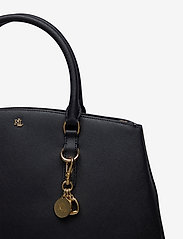 Lauren Ralph Lauren - Leather Double-Zip Satchel - top handle tasker - lauren navy - 3