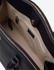 Lauren Ralph Lauren - Leather Double-Zip Satchel - top handle tasker - lauren navy - 4