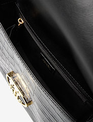 Lauren Ralph Lauren - Embossed Leather Medium Addie Crossbody - crossbody bags - black - 4