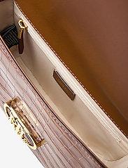 Lauren Ralph Lauren - Embossed Leather Medium Addie Crossbody - crossbody bags - deep saddle tan - 4