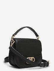 Lauren Ralph Lauren - Vegan Leather Small Addie Crossbody - crossbody bags - black - 2