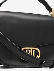 Lauren Ralph Lauren - Vegan Leather Small Addie Crossbody - crossbody bags - black - 3