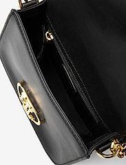 Lauren Ralph Lauren - Vegan Leather Small Addie Crossbody - crossbody bags - black - 4
