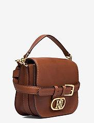 Lauren Ralph Lauren - Vegan Leather Small Addie Crossbody - crossbody bags - lauren tan - 2
