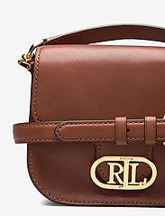 Lauren Ralph Lauren - Vegan Leather Small Addie Crossbody - crossbody bags - lauren tan - 3