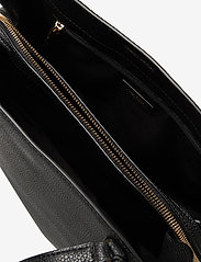 Lauren Ralph Lauren - Leather Large Quinn Shoulder Bag - shoppere - black - 4