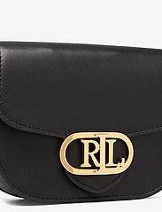 Lauren Ralph Lauren - Aged Leather Medium Addie Belt Bag - bæltetasker - black - 3