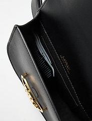 Lauren Ralph Lauren - Aged Leather Medium Addie Belt Bag - bæltetasker - black - 4
