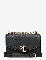 Small Leather Madison Crossbody Bag - BLACK