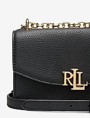 Lauren Ralph Lauren - Small Leather Madison Crossbody Bag - crossbody bags - black - 3
