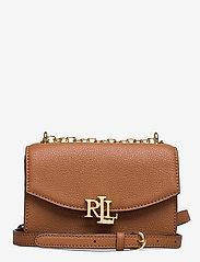 Lauren Ralph Lauren - Small Leather Madison Crossbody Bag - crossbody bags - lauren tan - 0