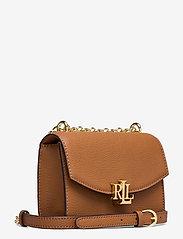 Lauren Ralph Lauren - Small Leather Madison Crossbody Bag - crossbody bags - lauren tan - 2