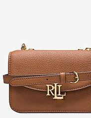 Lauren Ralph Lauren - Small Leather Madison Crossbody Bag - crossbody bags - lauren tan - 3