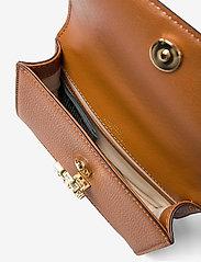 Lauren Ralph Lauren - Small Leather Madison Crossbody Bag - crossbody bags - lauren tan - 4
